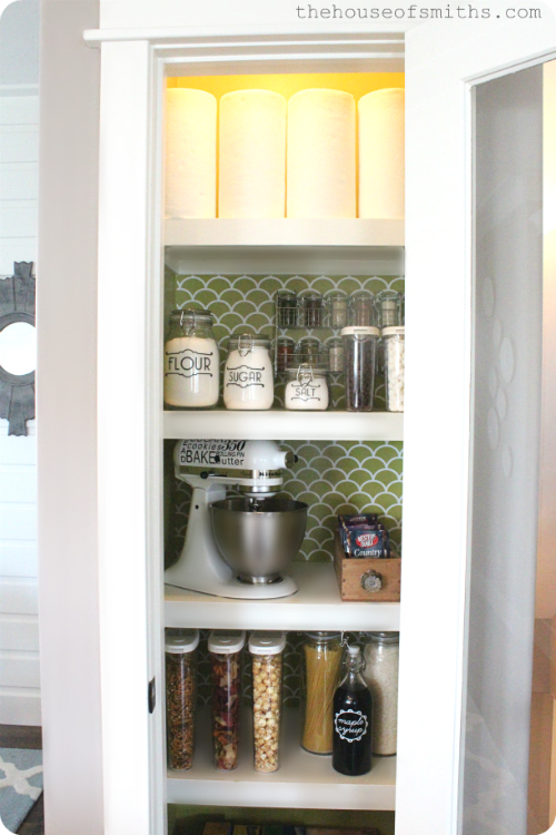 House of Smiths tiny pantry