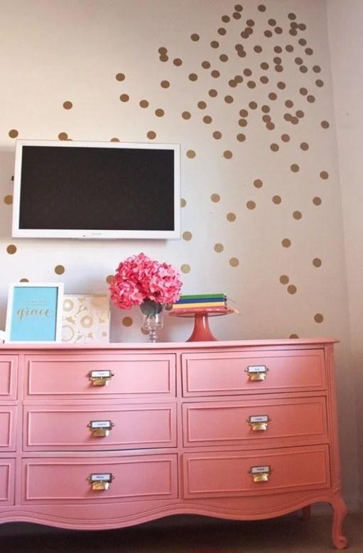 Infarrantly Creative coral dresser