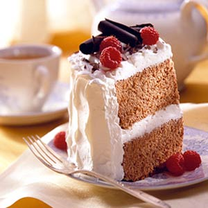 Midwest Living Valentine's Cocoa Angel Cake