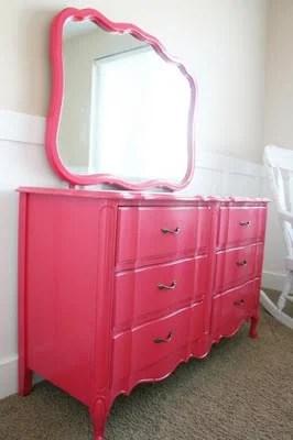 Natures Heirloom pink dresser