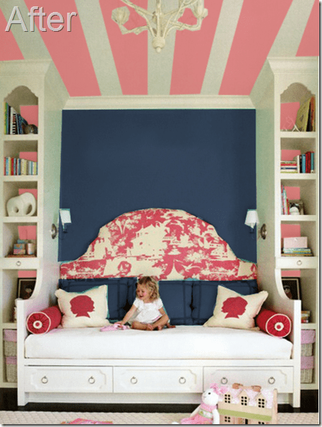 Charmant Pink And Navy Bedroom Updates
