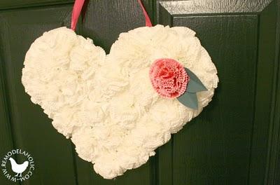 Remodelaholic Valentine door hanger