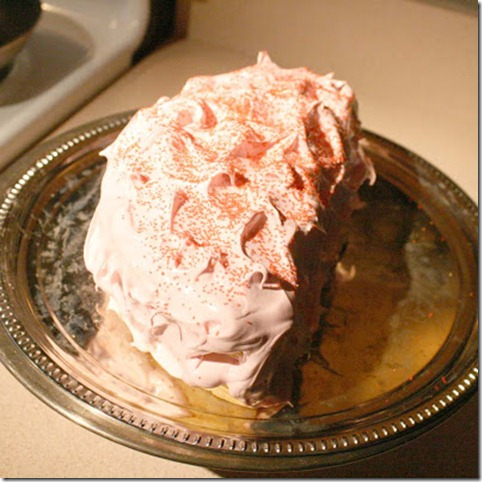 Remodelaholic karo frosting cake Best birthday cake ideas