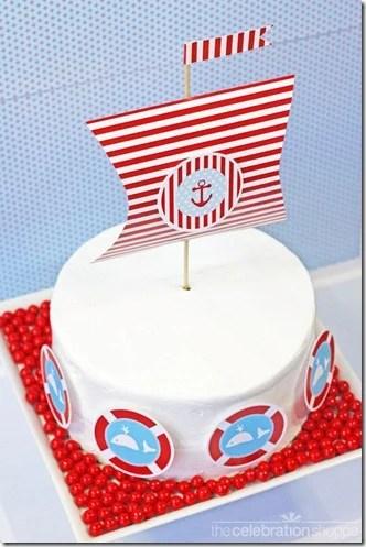 The celebration shop sailor cake