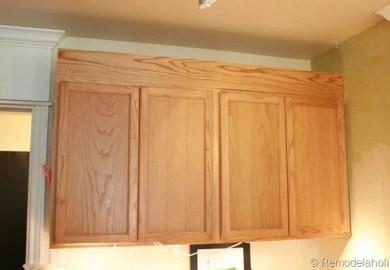 Kitchen Cabinet Trim Molding Ideas