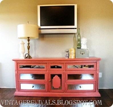 Vintage Revivals coral entertainment console