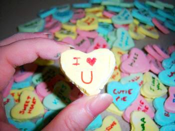remodelaholic homemade conversation hearts