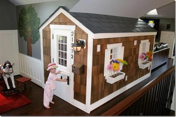 Apartment Therapy Cedar Shake Attic playhouse