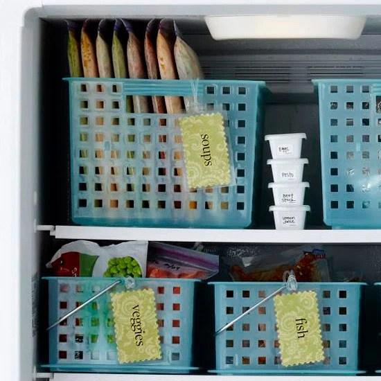 Better Homes & Gardens freezer storage