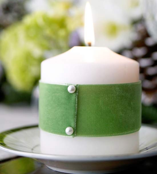 Leprechaun Candles for St. Patrick's Day by BHG