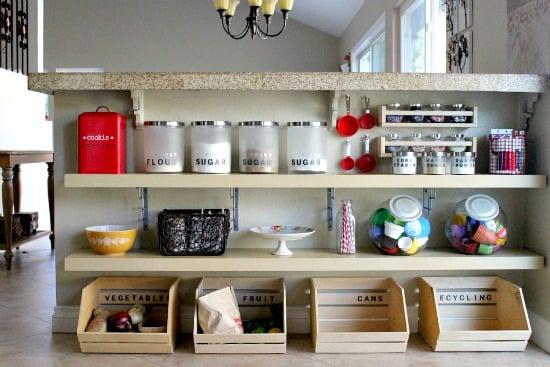 Create Celebrate Explore bar pantry