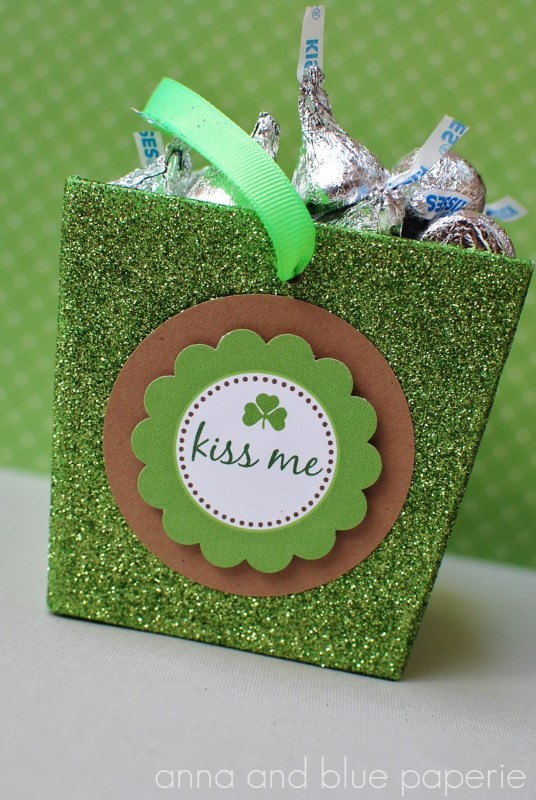 Free Printable St. Patrick's Day label from Anna and Blue paperie