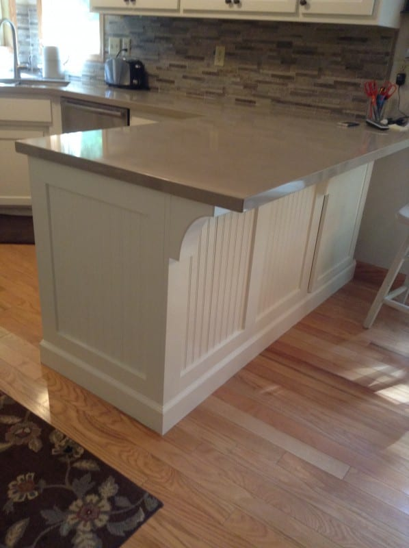 Kitchen Island Makeover By Karen On @Remodelaholic