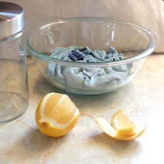 Lemon Dust Cloths Growing Home