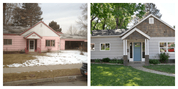 Remodelaholic Home Tour Lindsay and Drews Flip House