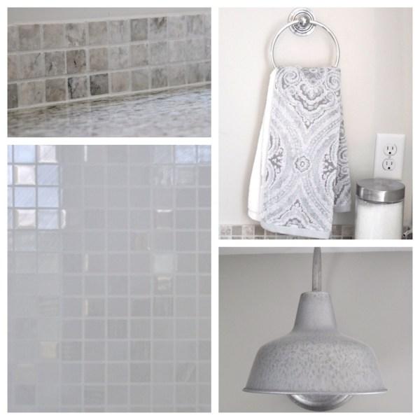 Lindsay & Drew master bath details