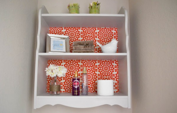Our Love and Our Blessing bathroom shelf 19