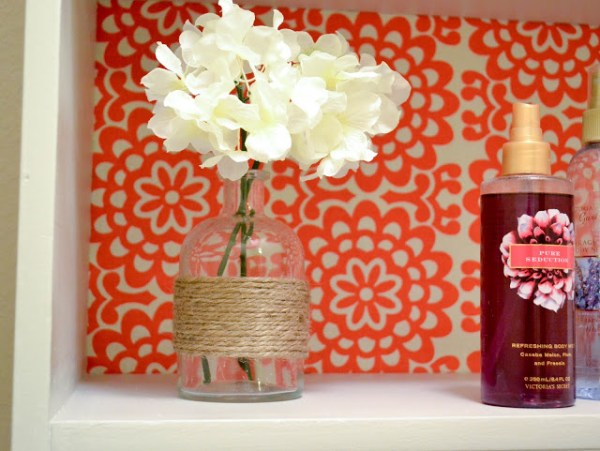 Our Love and Our Blessing bathroom shelf 21