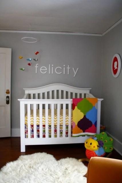 Project Nursery felicity's room