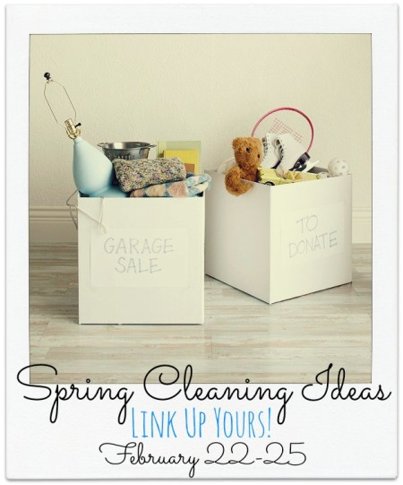 Spring Cleaning Linkup button