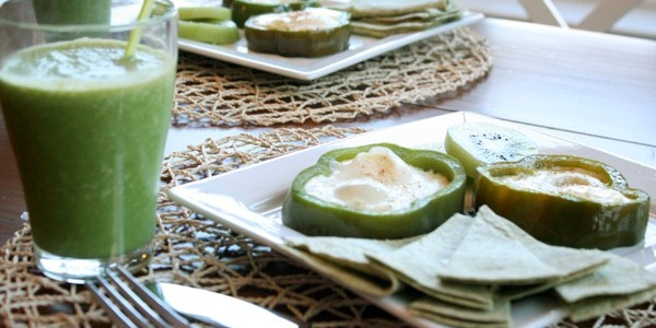 Green Breakfast for St. Patrick's Day from Remodelaholic