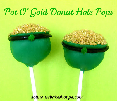 pot o gold pops, dollhouse bake shoppe