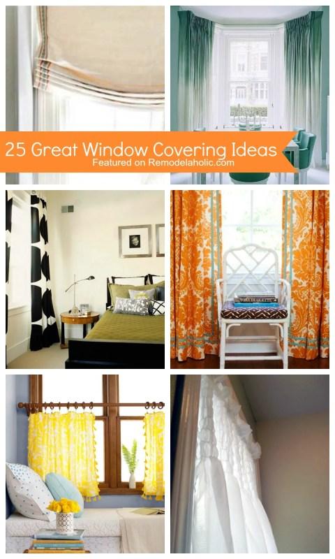 25 Great Window Covering Ideas