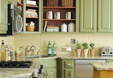 Kitchen Colors With Dark Cabinets Better Homes Gardens