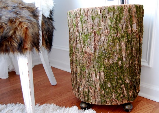 Nesting Place stump side table