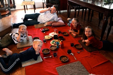 Our Family Blog passover supper