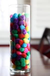 Our Family Blog warm fuzzies jar