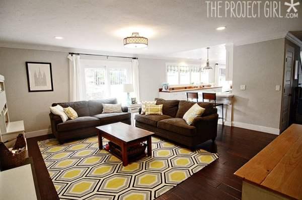 Project Girl honeycomb rug
