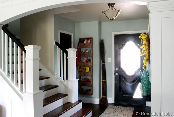 Remodelaholic entry staircase makeover 2