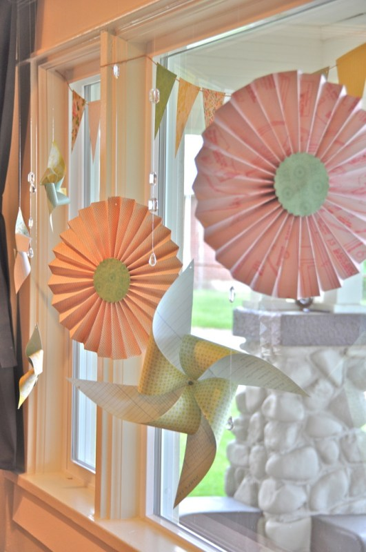 Simply Kelly B pinwheel window