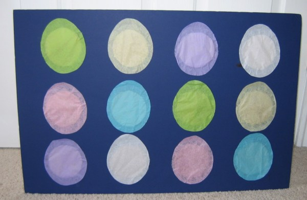 Teaching LDS Children easter punchboard