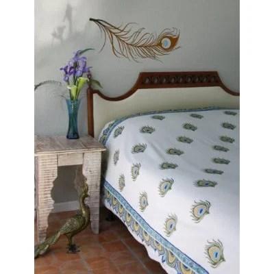 Zujava peacock bedroom