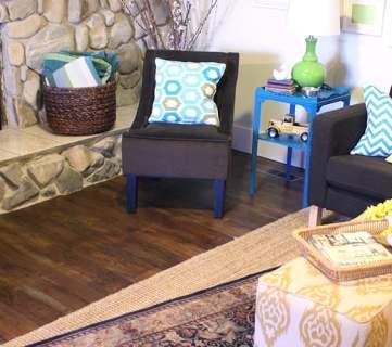 Flooring for the Living Room