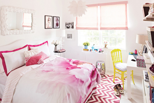 HomeCreat fresh pink room