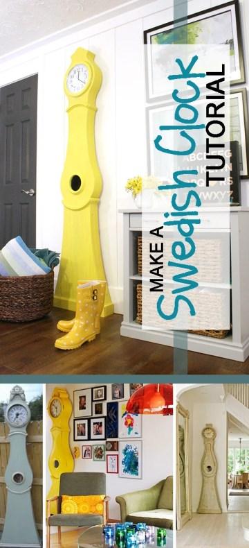Make A Swedish Clock Tutorial