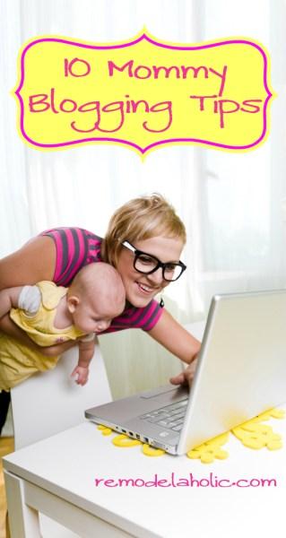 Mommy Blogging Tips