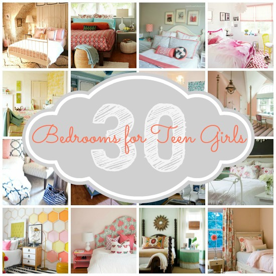 Teen Girl Bedroom Collage