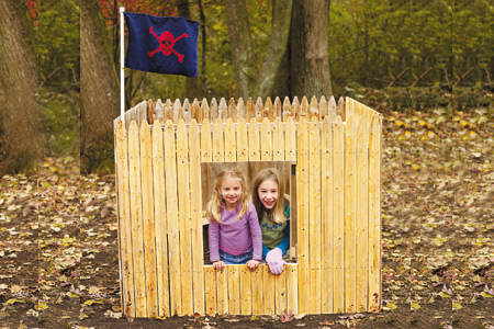 This Old House how to build a fort