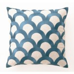 D.L.-Rhein-Scales-Down-Filled-Embroidered-Pillow