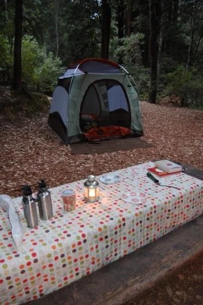 Portable Baby Blog camping checklist