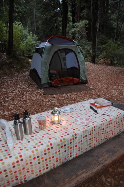Portable Baby Blog camping checklist