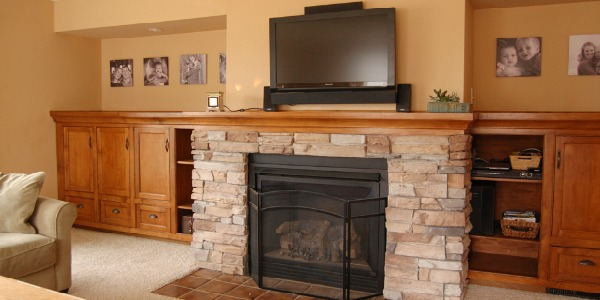 Remodelaholic Amazing Diy Fireplace And Built Ins