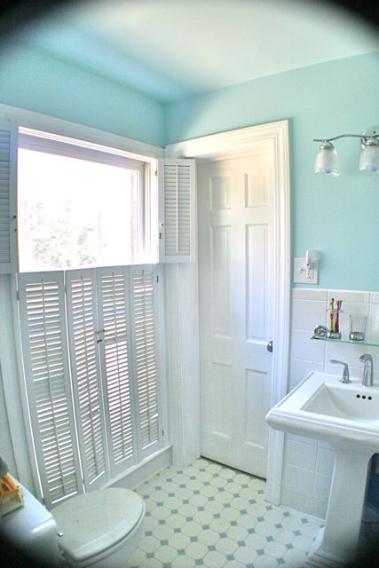 Remodelaholic an 80 39 s bath remodeled - Jack n jill bathroom ...