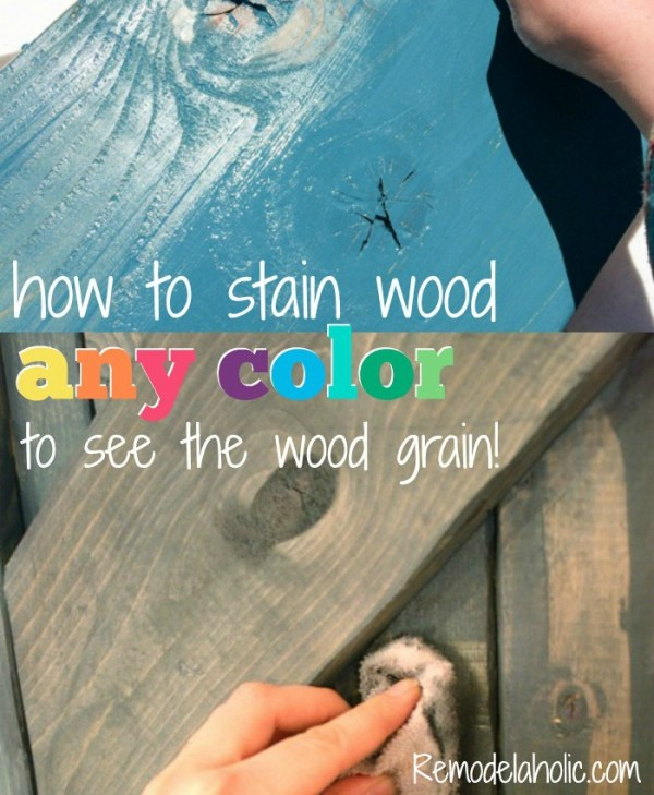 Color Wash Wood Stain Crop