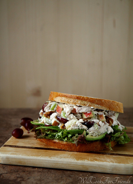 healthy summer chicken salad recipe