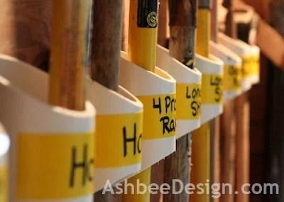 pvc tool organizers, Ashbee Designs